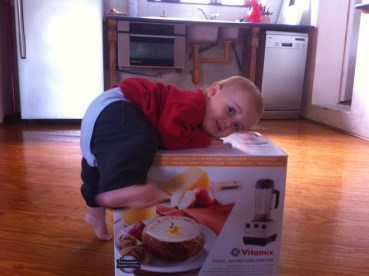 """Addicted to a new health drug, with Vitamix as my """"supplier"""""""
