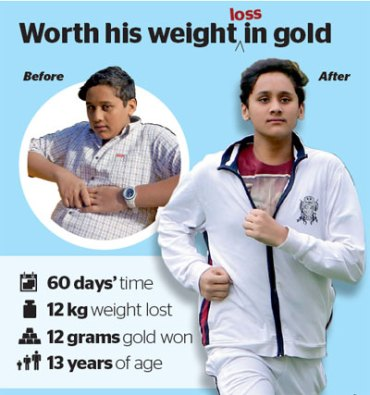 Worth their weight in gold: biggest losers in Dubai win coins for weight lost