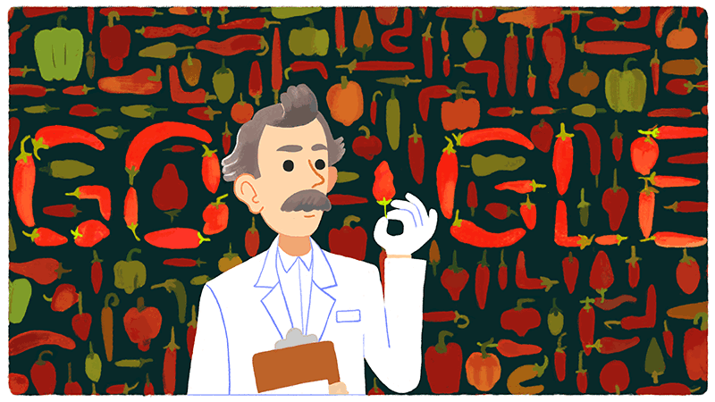 Google gets hot for Wilbur Scoville!