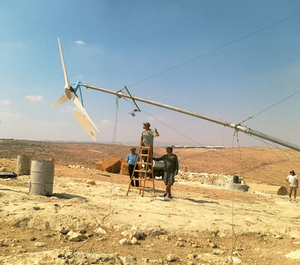 Renewable energy and traditional baking cooperation in Palestine