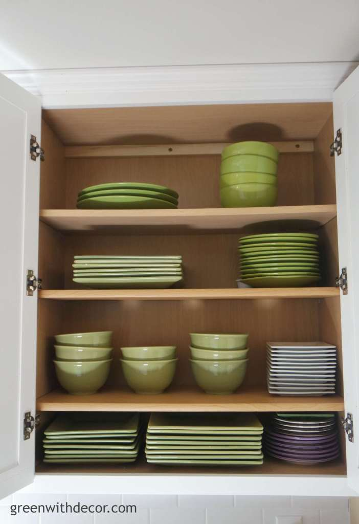 Green with decor extra storage in the kitchen cabinets for Extra kitchen storage