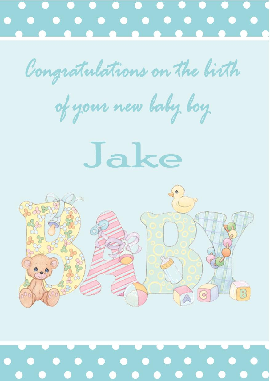natural personalised new baby boy card design 1 253 p congratulations new baby girl religious congratulations