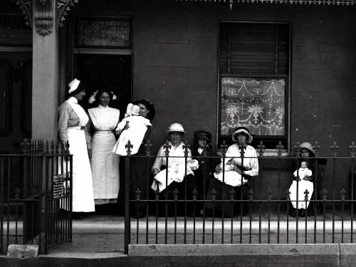 Newtown Baby Clinic, 1914 - Dr. D. L. Smith's Baby Hospital, Saluda, NC – Greetings from the Past