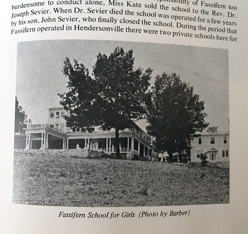 Fassifern School for Girls from On the Banks of the Oklawaha by Frank L. FitzSimons