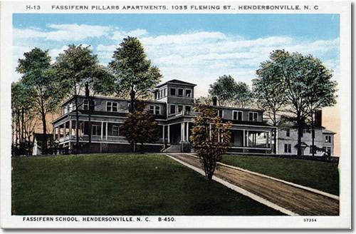 Postcard of Fassifern Pillars Apartments