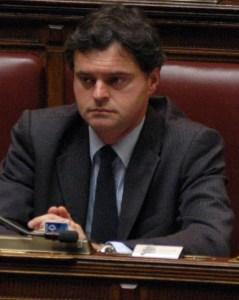 Nel suo seggio alla Camera dei Deputati