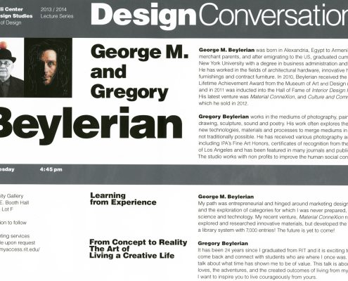 Vignelli Center for Design Studies lecture