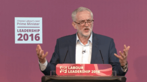 Jeremy Corbyn favori du leadership