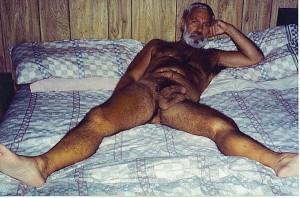 hairy daddy butt