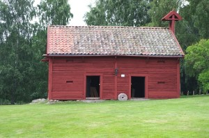 A red barn in Sweden, from Pixabay.com