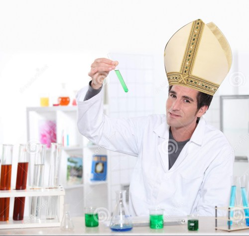 Respect my hat of science!