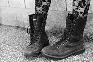 combat boots - hipster shoes