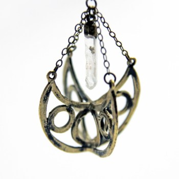 black willow jewelry hallowed ground orb necklace