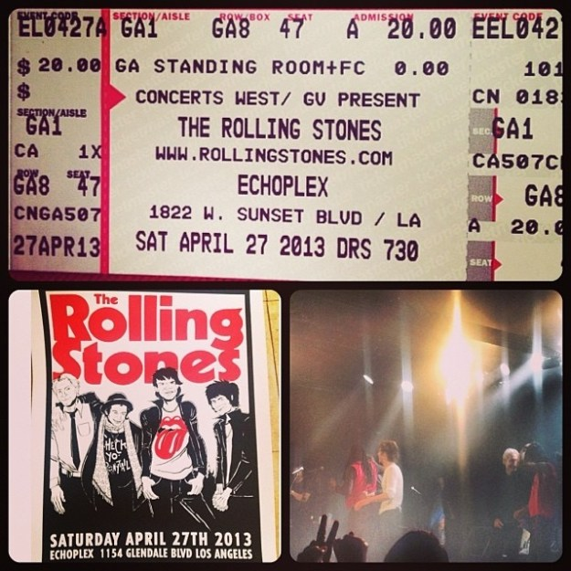 The Rolling Stones Are Playing Fonda Theatre Tonight
