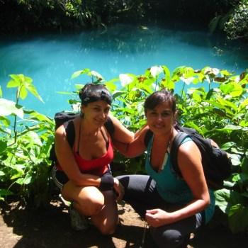 rio celeste costa rica hike