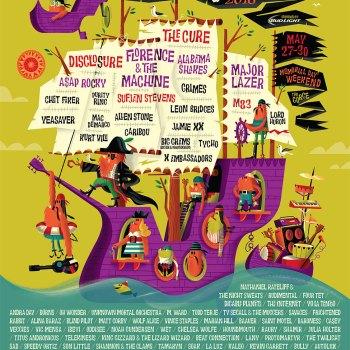 Sasquatch 2016 poster