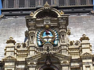 Detail, Main Facade, El Palacio de Aguas Corrientes