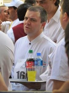 Bottles & Glasses, Buenos Aires Waiter's Race 2011