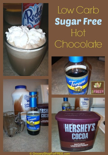 going to share my favorite Low Carb, Sugar Free Hot Chocolate ...