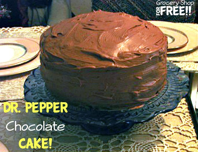 Dr. Pepper Chocolate Cake!