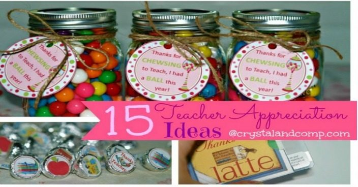 Teacher Appreciation Ideas: 15 Ways to Say Thank You To Your Teacher!