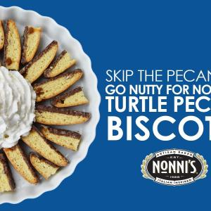 Nonni's Turtle Pecan Biscotti National Pecan Day Giveaway!