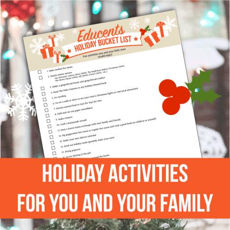 free holiday bucket list