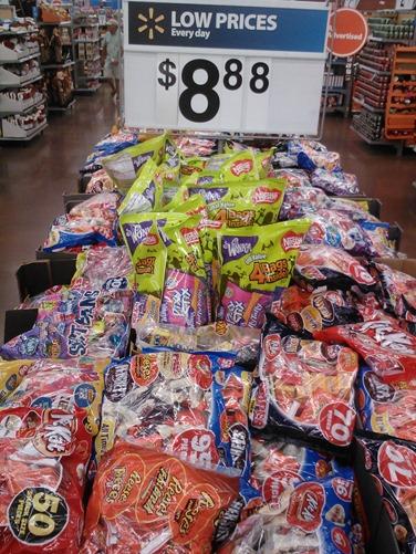 2013 Halloween Candy Coupons and Walmart Matchups!
