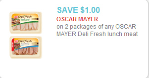 Oscar Mayer Deli Fresh Coupon