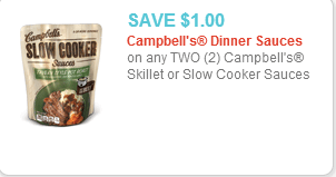 Campbells Sauce Coupon
