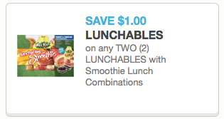 Lunchables Smoothie Coupon