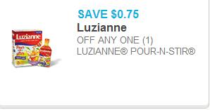 Luzianne Pour-n-Stir Coupon