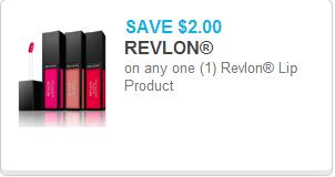 Revlon Lip Product Coupon