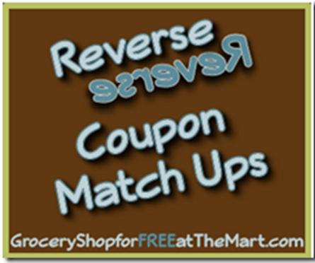 Walmart Reverse Coupon Matchups