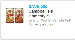 Campbell's Homestyle Soup Coupon