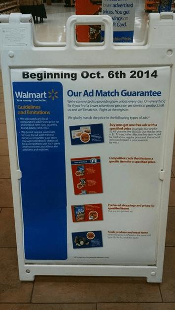 Florida Walmart Bogo Policy