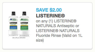 Listerine Coupon