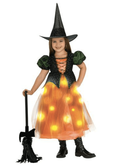 Lightup Twinkle Witch Child Halloween Costume Only $14.97 + FREE Store Pick Up (Reg. $22.97)!