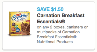 Carnation Coupon