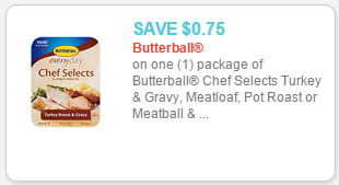 butterball selects coupon