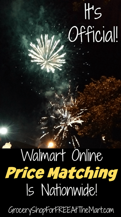 It's Official Walmart Online Price Matching Is Nationawide