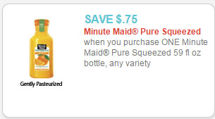 Minute Maid Pure Squeezed Juice coupon 2