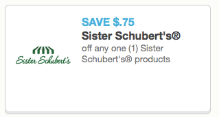 Sister Schubert's Coupon