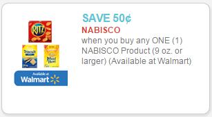 nabisco crackers coupon