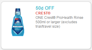 crest pro-health coupon