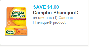 Campho-Phenique Coupon