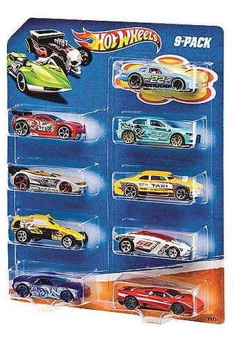 *ROLLBACK* Hot Wheels Cars, 9-Pack Only $7.00 + FREE Store Pickup!