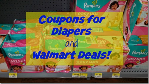 Coupons for Diapers and Walmart Deals!