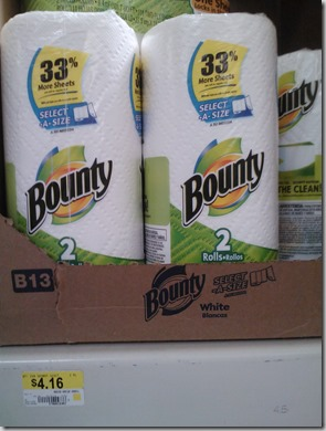 New Printable Coupons for Bounty, Puffs, and Charmin Products