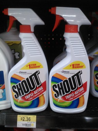 Shout Just $1.86 at Walmart!